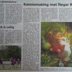 kenismaken met Negar